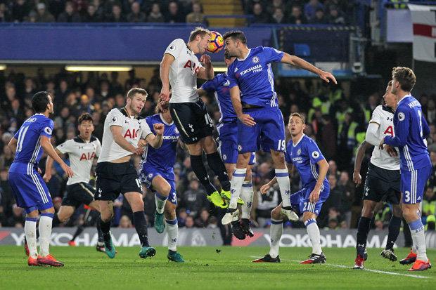 Tottenham Chelsea Title race