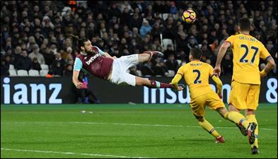 Andy Carroll overhead kick