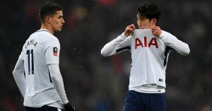 Erik Lamela and Son Heung-min